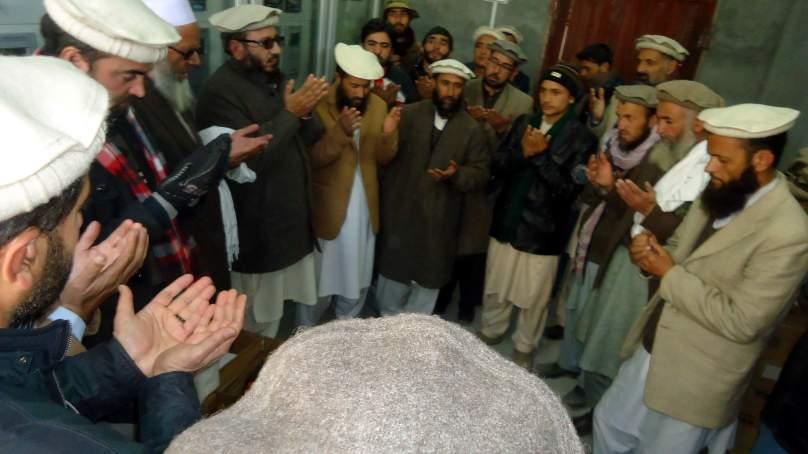 چترال: علماء کا ایس آر ایس پی دومیگاواٹ بجلی گھر گولین کا دورہ،رفتار اور معیار پر اطمینان کا اظہار