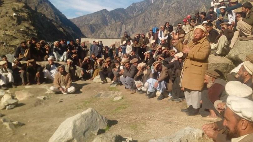 کوہستان: لوئر کوہستان کے کسی بھی علاقے کو اپر کوہستان میں شامل نہ کیا جائے، عمائدین کا گرینڈ جرگہ داسو میں ہوا