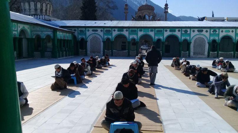 چترال: گورنمنٹ دارالعلوم واقع شاہی مسجد چترال میں سالانہ امتحانات شروع ہوگئے