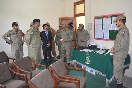 ضلع گانچھے کے عوام پاک آرمی کے احسان مند ہیں،  حاجی محمد اقبال سابق رکن اسمبلی