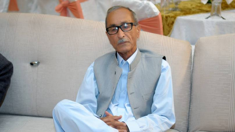 صو با ئی وزیر اطلاعات اقبا ل حسن کا پروفیسر عثمان علی کے انتقال پر اظہا ر تعزیت