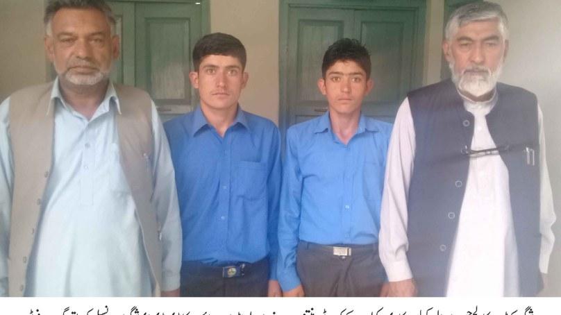 شگر: الچوڑی سے تعلق رکھنے والے جڑواں بھائی ایک ساتھ کیڈٹ کالج حسن ابدال میں داخلے کے لئے منتخب