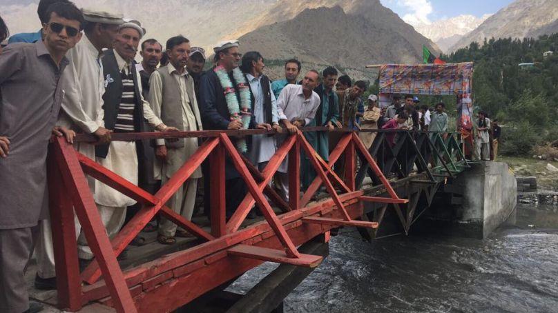 وادی ارکاری کی پسماندگی جلد دور کریں گے، ایم پی اے سلیم خان کا وعدہ