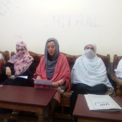 عمران خان پر لگائے جانے والے الزامات کو مسترد کرتے ہیں،  تحریک انصاف چترال  خواتین  ونگ