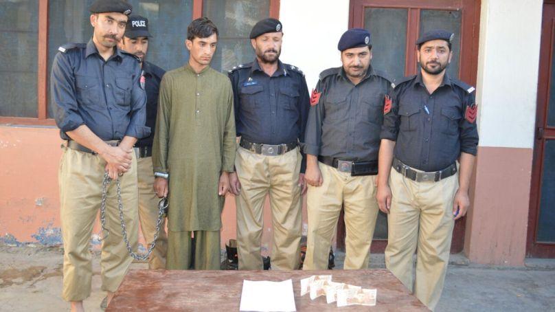 جعلی کرنسی پھیلانےکے الزام میں داریل کا رہائشی گرفتار