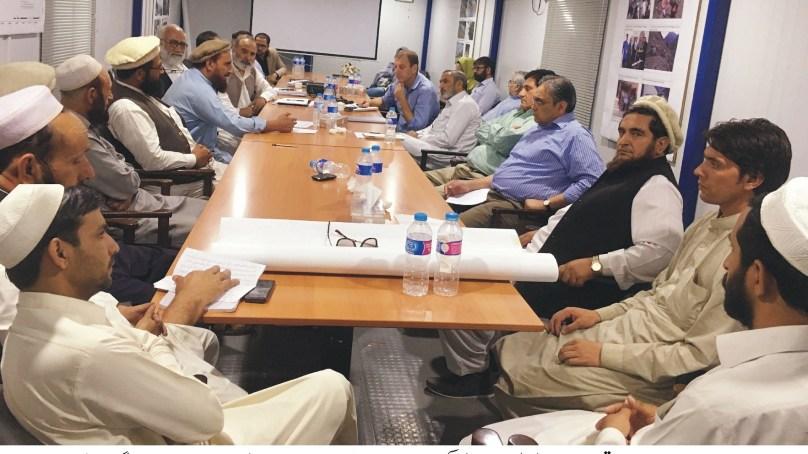 عالمی بینک کی ٹیم نے داسو ڈیم کوہستان کی تعمیراتی سائٹ کا دورہ کیا