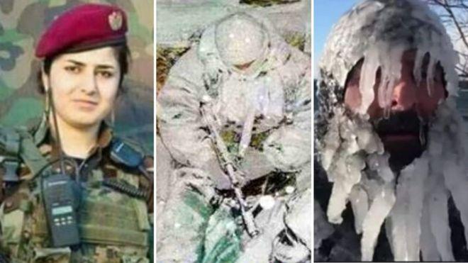 انڈیا: برف میں ڈھکے 'انڈین' فوجیوں کی تصویروں کی حقیقت
