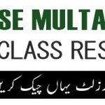 BISE Multan Board 10th Class Result