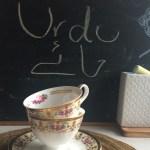 Urdu Tea Time!