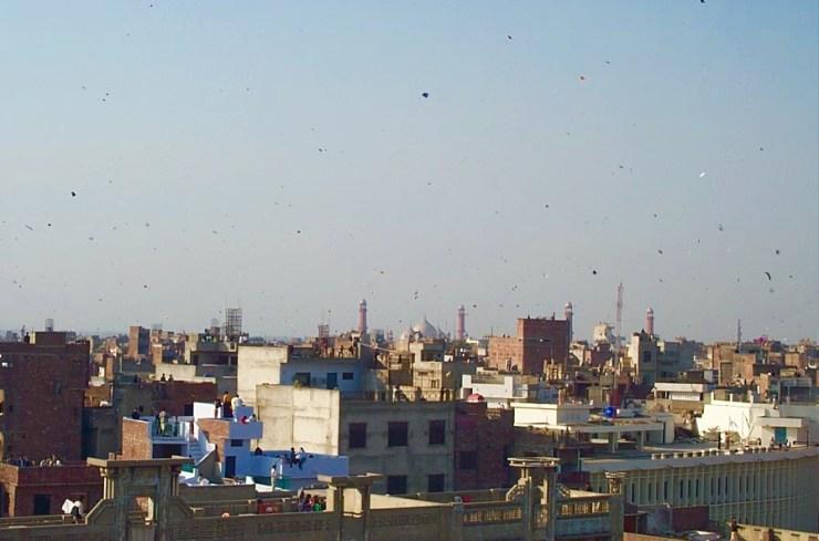 Basant Memories: Lahore Basant Sky