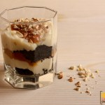 Oreo Vanilla Pudding With Salted Caramel