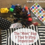 "The ""Mom"" Bag: 5 Tips to Stay Organized"