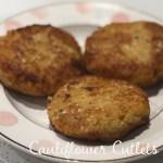 cauliflower cutlets