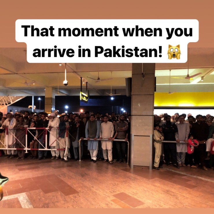 That moment when you arrive in pakistan