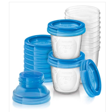 breastfeeding storage cups - Lessons I learnt during breastfeeding
