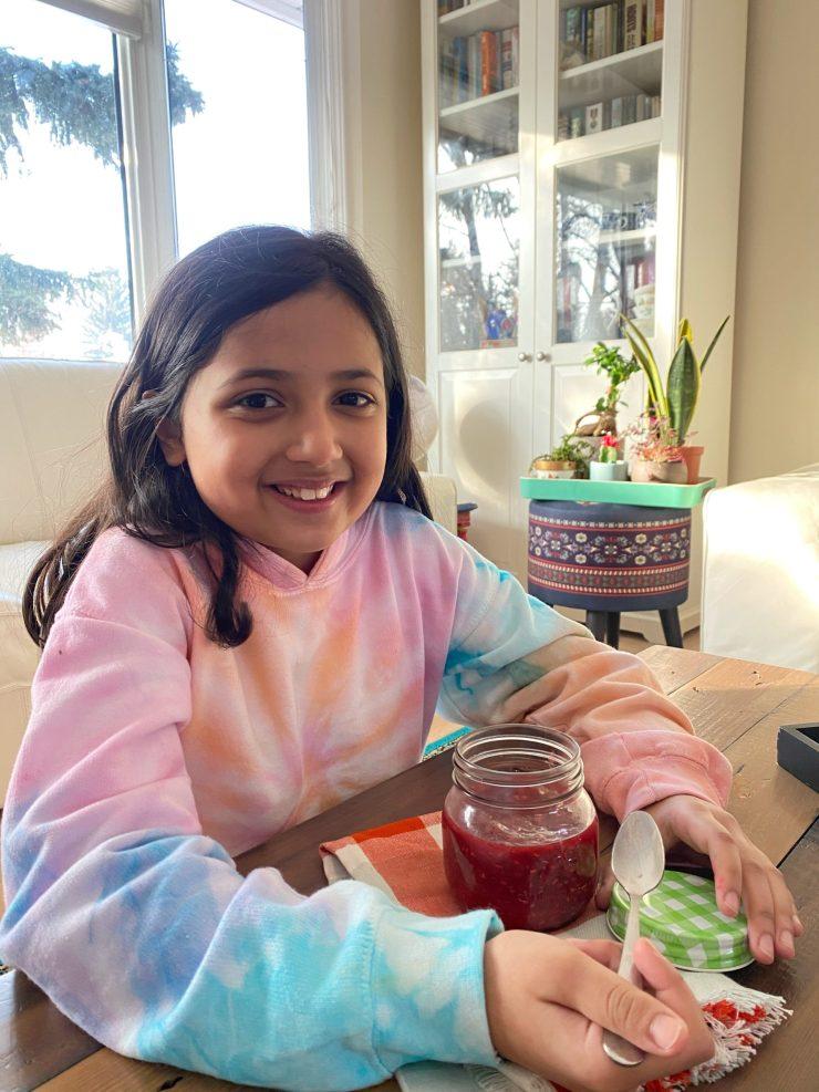 Home-made Raspberry Jam