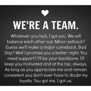 We're a Team Whatever you lack   Quotes   Quotes About Relationship   Relationship Quotes Images - Urdu Poetry World