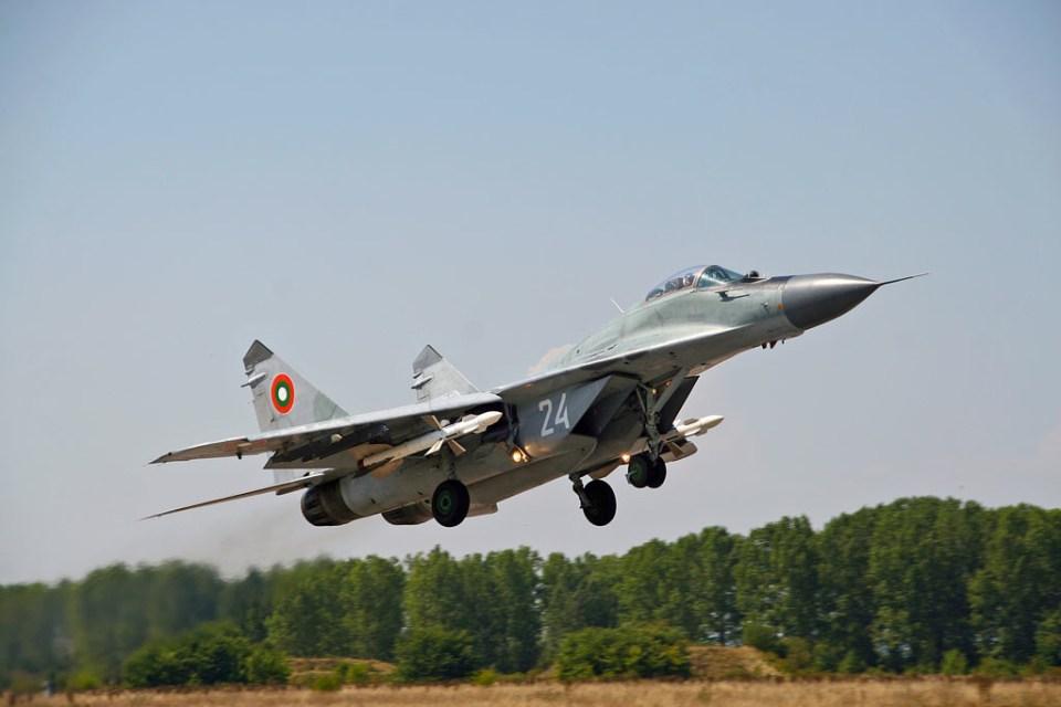 МиГ-29. Снимка: Министерство на отбраната