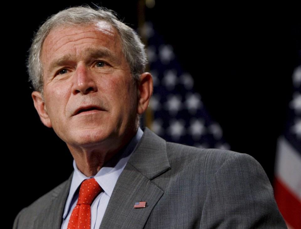 Бившият президент на САЩ Джордж Уокър Буш. Снимка: EPA/БГНЕС