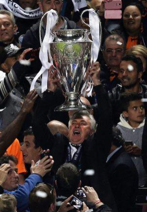 """Треньорът на """"Реал"""" влезе в историята Снимка: EPA/БГНЕС"""