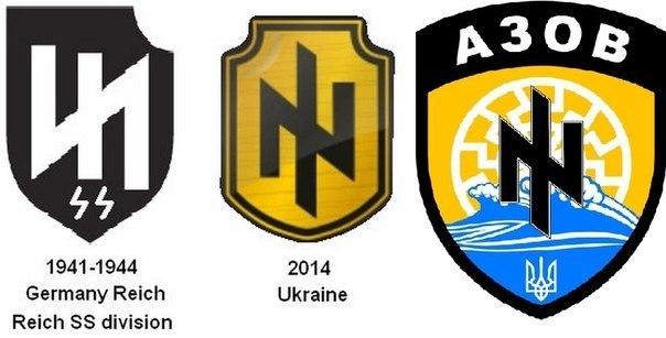 """Символите на """"Азов""""."""