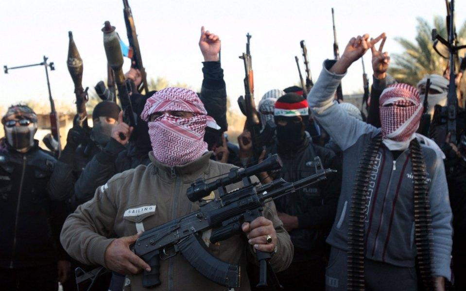 Бойци на Ислямска държава. Снимка: ЕРА/БГНЕС