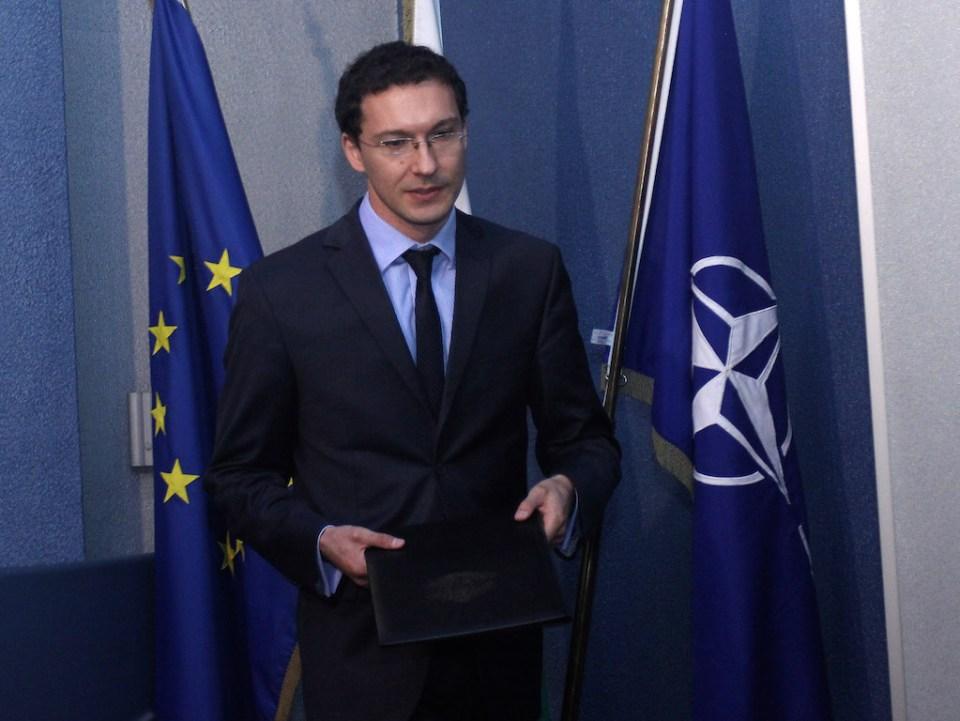 Външният министър Даниел Митов. Снимка: БГНЕС