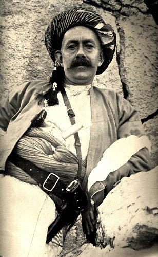 Махмуд Барзани, първият лидер на пешмерга