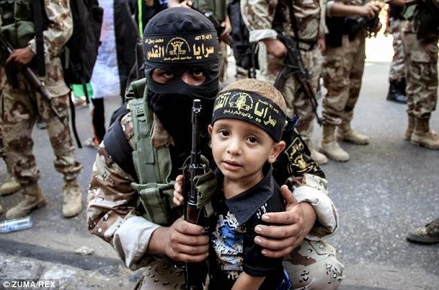 деца Ислямска държава