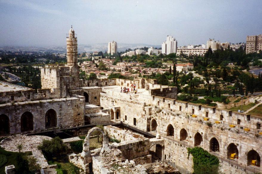 Йерусалим Кулата на Давид