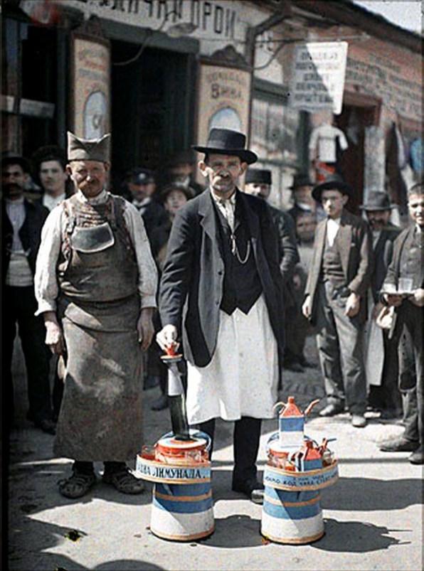 Продавач на лимонада в Белград