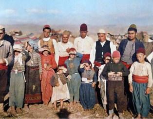 Турски бежанци от Одрин, напуснали при настъплението на българската армия