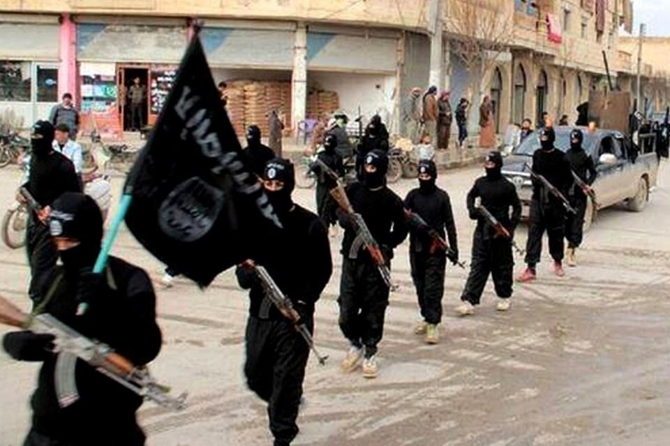 """Бойци на групировката """"Ислямска държава"""""""