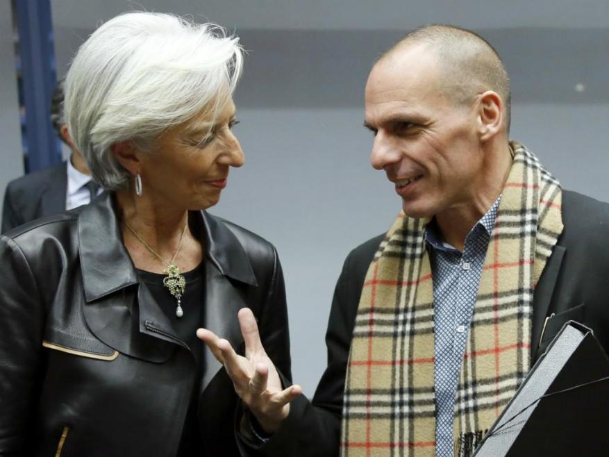 На 5 април във Вашингтон шефът на МВФ Кристин Лагард и министърът на финансите на Гърция Янис Варуфакис постигнаха споразумение.
