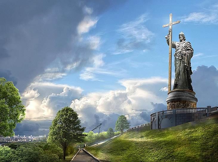 Проектът за княз Владимир. Изображение: Российское военно-историческое общество