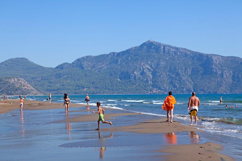 Турция плаж лято море