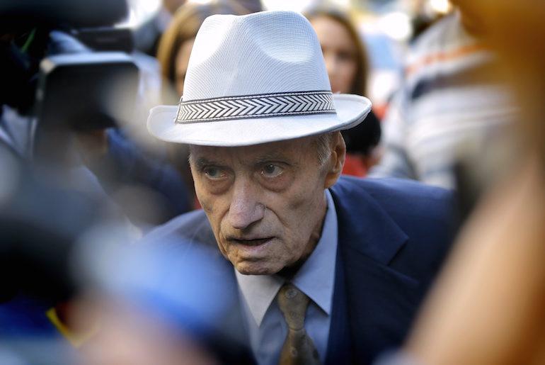 """89-годишният Александру Вишинеску е бил началник на затвора """"Ръминку Сърат"""" от 1956 до 1963 г. ©EPA/БГНЕС"""