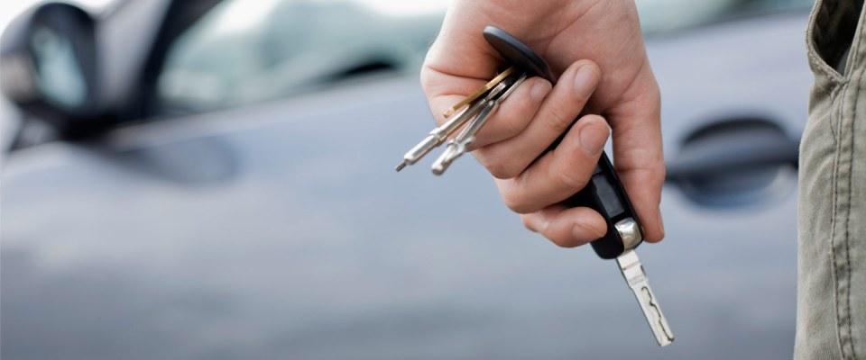 кола ключове шофьор