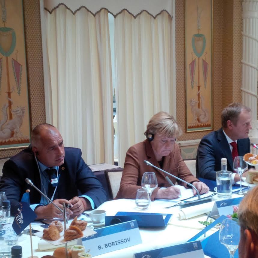 Бойко Борисов на извънредната среща на върха на ЕС