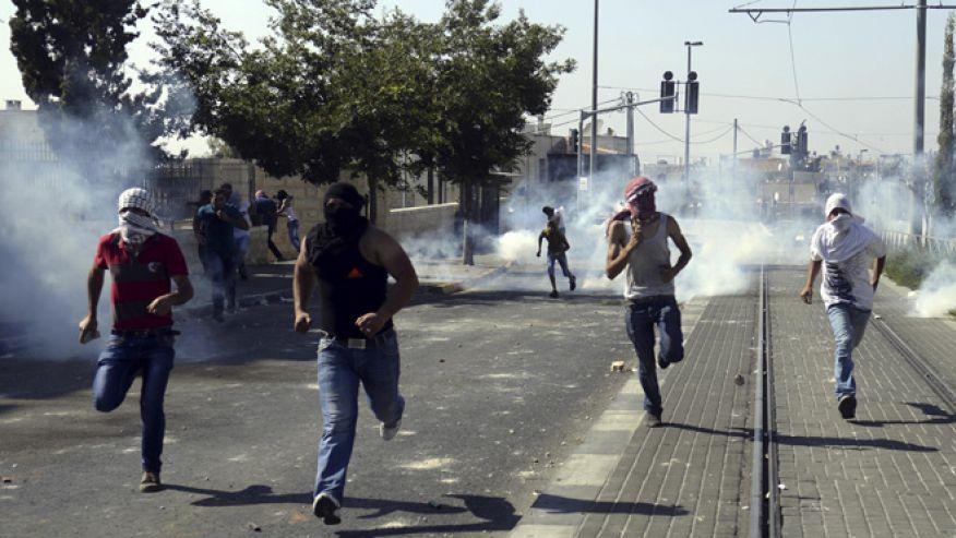 Израел Палестина насилие