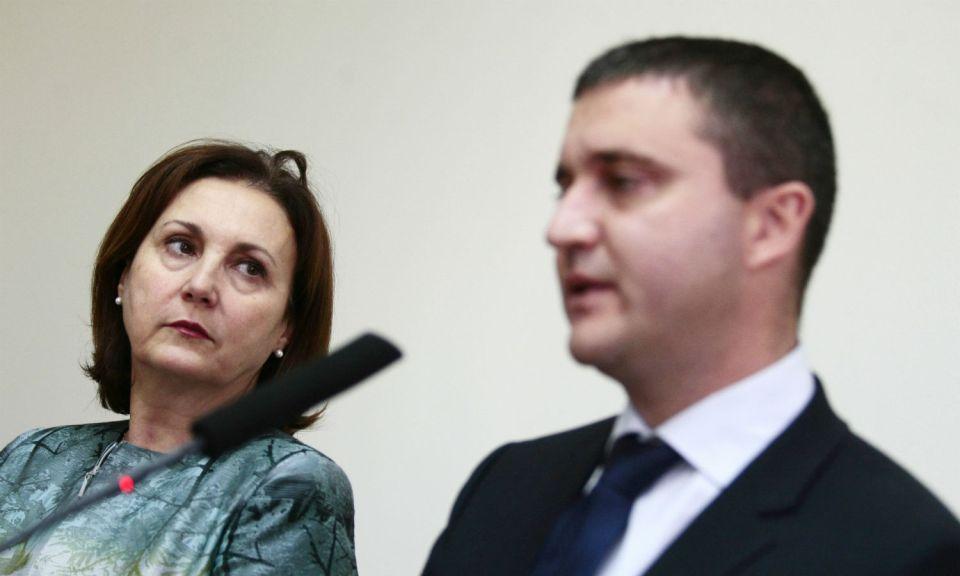 Румяна Бъчварова Владислав Горанов