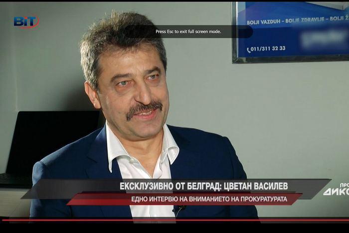 Цветан Василев в интервюто за Сашо Диков преди дни, когато беше в добро здраве