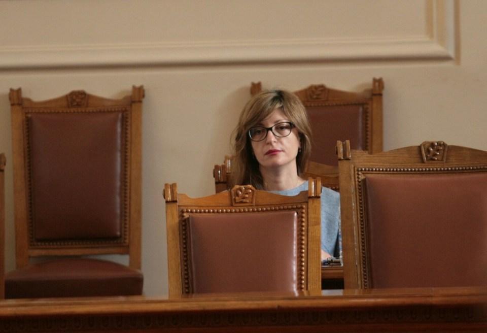 Екатерина Захариева. Снимка: БГНЕС