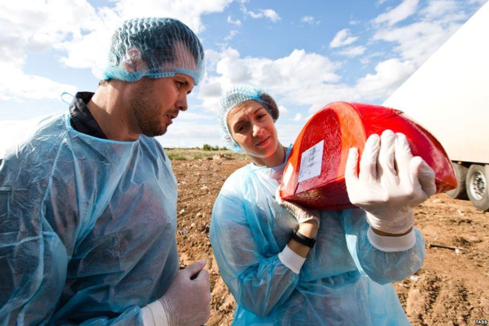 Всяка разкрита контрабандна доставка на европейско сирене в Русия е унищожавана.
