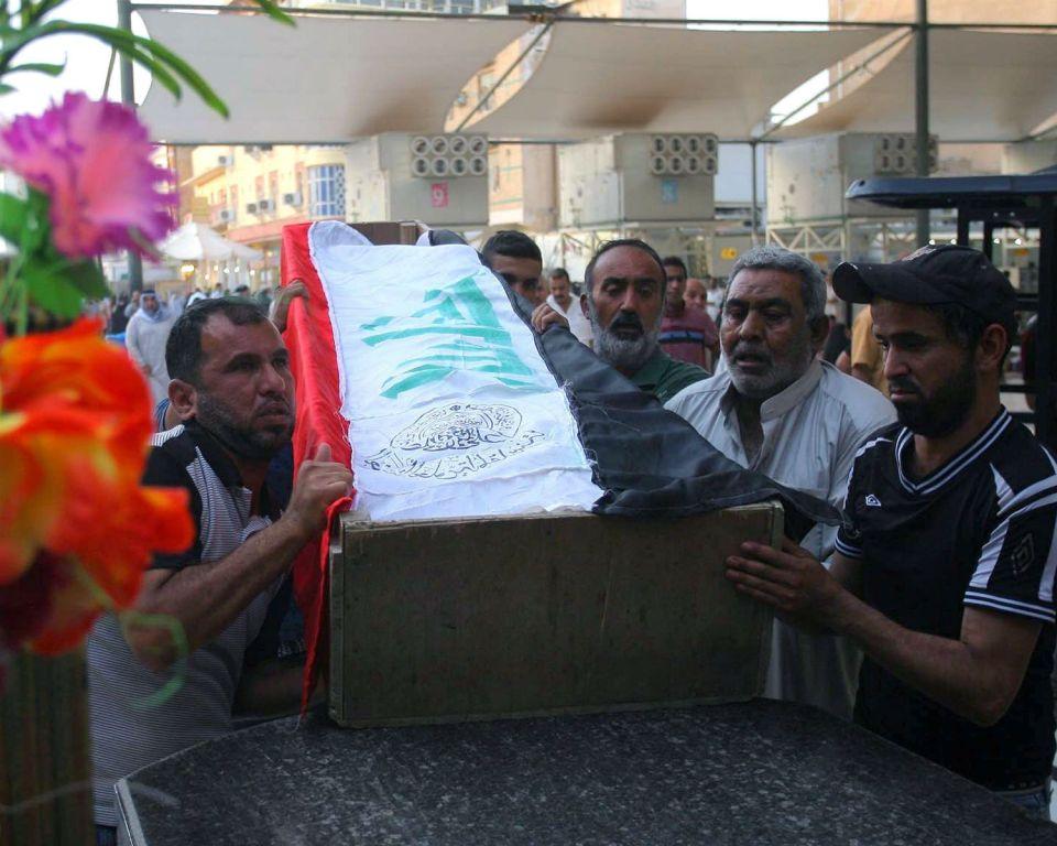 В Багдад погребват убитите при самоубийствения атентат на 12 май
