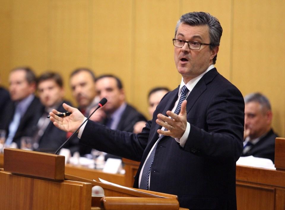 Хърватският премиер Тихомир Орешкович. Снимка: ЕРА/БГНЕС