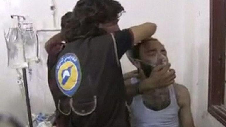 химическа атака сирия оръжия