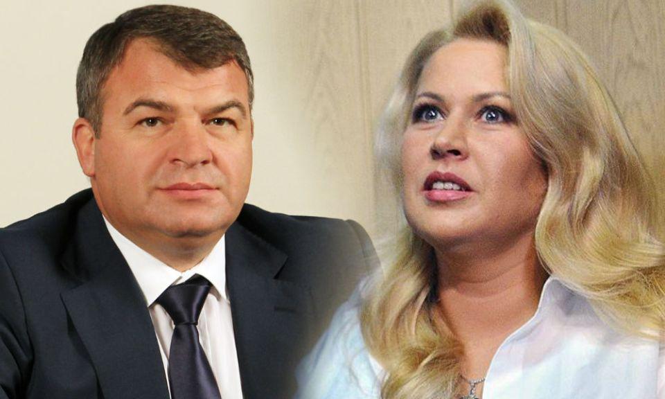 Анатолий Сердюков и любовницата му Евгения Василева