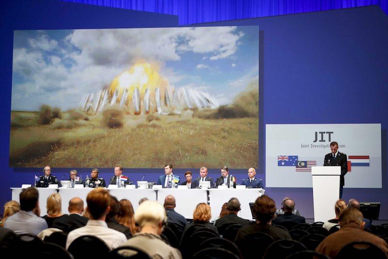 Пресконференцията за международните прокурори започна ©EPA/БГНЕС