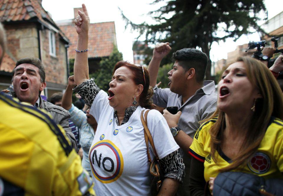 Колумбия референдум
